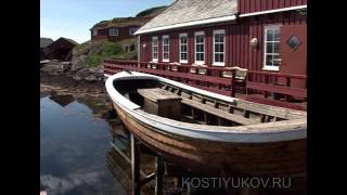 Морская рыбалка в Норвегии..