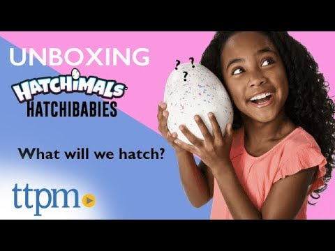 Unboxing | Hatchibabies from Spin Master