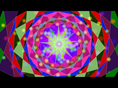 Think Space - Trippy Psychedelic Visuals With Fractals Zoom [HD] ( Progressive Psy Trance )