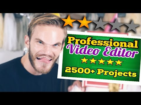 So i hired 4 different editors to edit a pewdiepie video.. (ft. QuackityHQ)