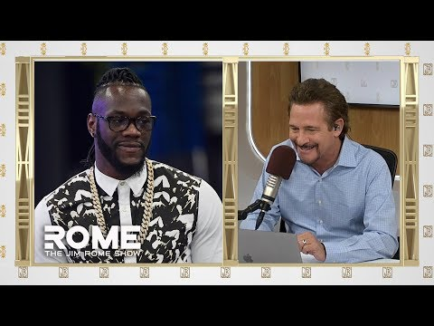 Deontay Wilder talks Tyson Fury | The Jim Rome Show