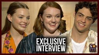 Noah Centineo, Shannon Purser & Kristine Froseth Talk New Gen of Teen Movies, SIERRA BURGESS Message
