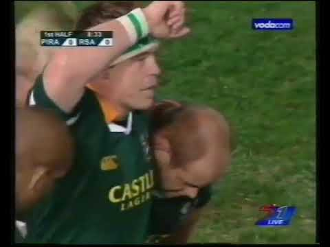 Rugby: Pacific Islanders vs South Africa 2004