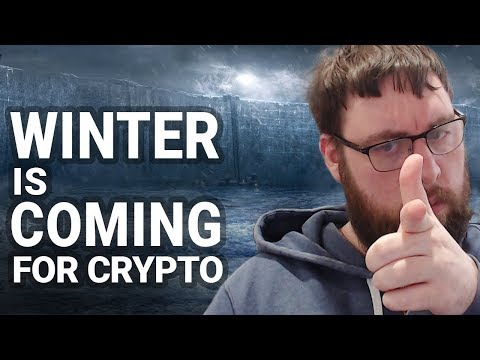 Winter Is Coming!!!!! For Crypto Land.