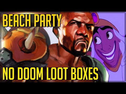 A WHOLE NEW DOOMFIST CONFIRMATION! (Summer Beach Games + None Loot box Event - Overwatch)