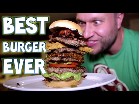Eating The Best Burger Ever!