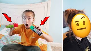 I DESTROYED MY SISTERS BEDROOM WITH SILLY STRING | SORRY IT'S Just JayJay