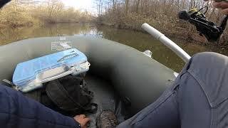 Ловля окуня в закоряженном озере