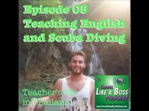 Ep 05 - Teaching English to travel, Trip to Israel, and Scuba Diving with Stephen Winston