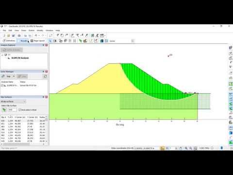 Phân tích ổn định mái dốc nền đường đắp bằng Geo-Slope