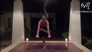 Yoga для обычных женщин  - видео урок пятница
