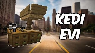 KEDİ EVİ!! (Çalışan) | Minecraft