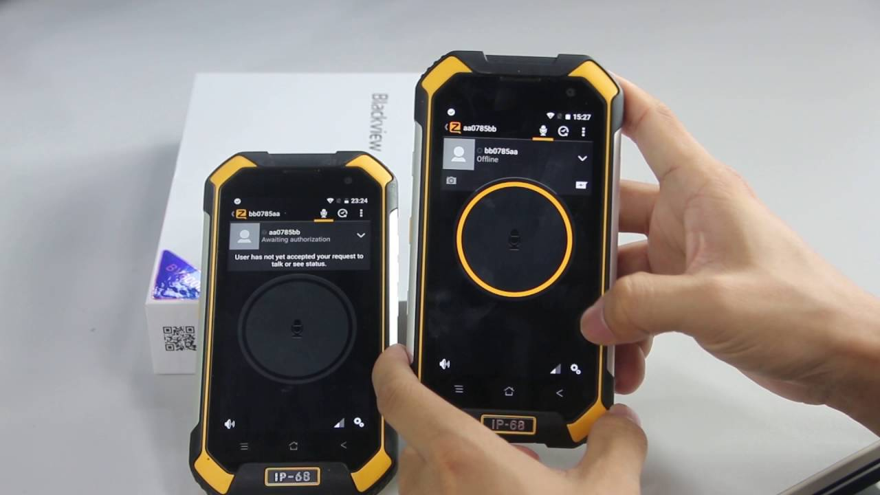 How To Access Ptt Mode Of Bv6000 By Quick Launch Button