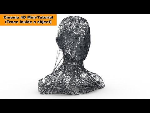 Trace inside an object (Cinema 4D Mini-Tutorial)