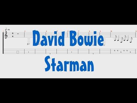 David Bowie - Starman [Bass Tab]