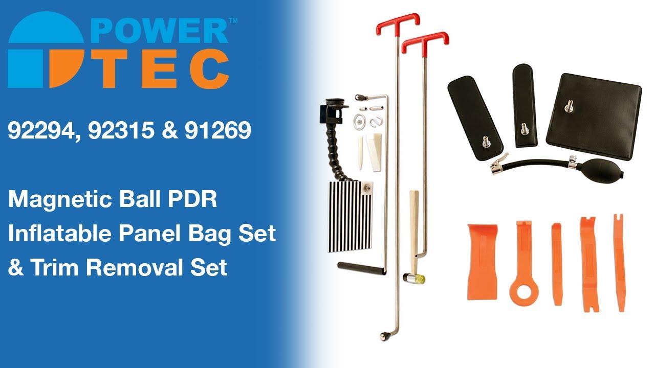 Power-Tec Professional Paintless Dent Removal Tool Kit Training Bar