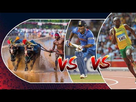 Srinivas Gowda Vs MS Dhoni Vs Usain Bolt - Run Comparison