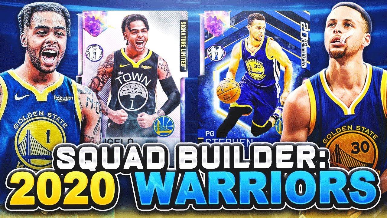 online store 6c480 24d9b I USED THE NBA 2K20 GOLDEN STATE WARRIORS IN NBA 2K19 MYTEAM!! THIS TEAM IS  STILL NOT FAIR