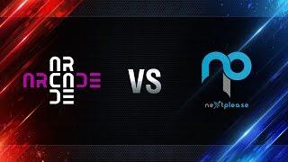Arcade eSports vs NextPlease  - day 1 week 4 Season I Gold Series WGL RU 2016/17