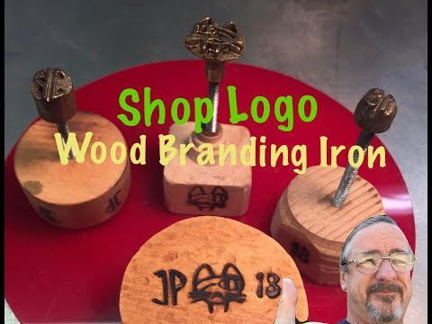 Making a Wood Branding Iron Featuring my Shop Logo