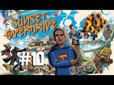 Sunset Overdrive Playthrough - Ep. 10 - Up In the Air