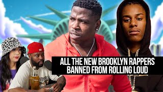 Rolling Loud NYC! ALL THE BROOKLYN RAPPERS GOT BANNED