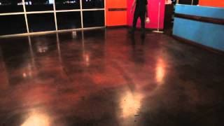 Steps For Waxing Stained Concrete Floors