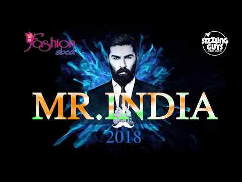 """Fashion abcd & Sizzling Guys Presents  """"Mr.India""""-2018 Grand Finale"""