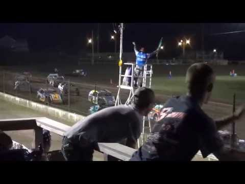 USRA B-Mod feature Fayette County Speedway West Union,IA 6/24/16