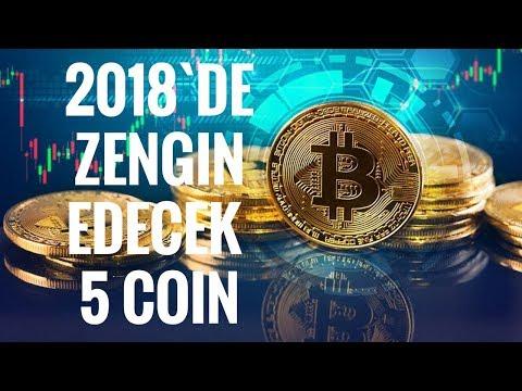 2018`de Market Diplerinde Alınması Gereken 5 Coin