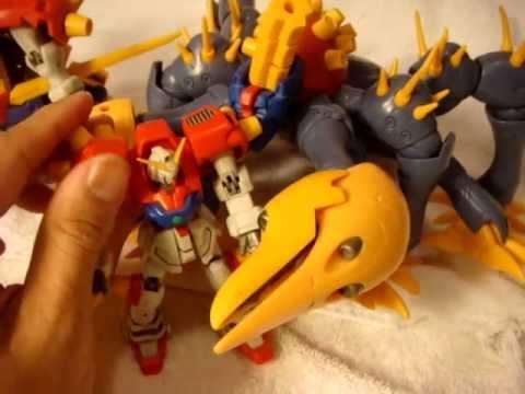 Gundam Review : MSIA Dark Gundam - YouTube