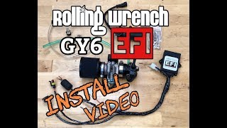 (BETA TESTERS ONLY... for now)Rolling Wrench GY6 EFI kit install video