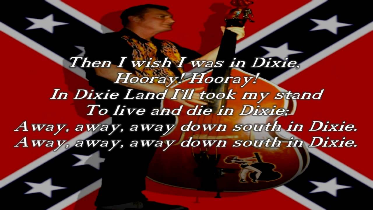 Dixie Anthem Of The Confederate States Of America YouTube - States of america song youtube