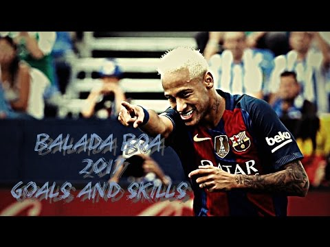 Neymar Jr. - Balada Boa (Tchê Tchê Rere) Gustavo Lima - 2017 Goals and Skills