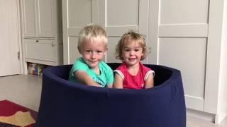 Romana Airpool Детский сухой бассейн (темно - синий)