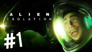 ALIEN: ISOLATION - DEU RUIM! - Parte 1