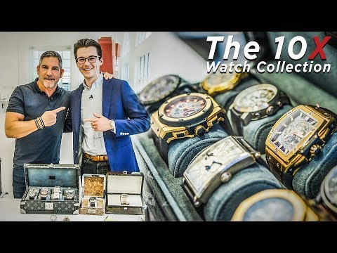 Grant Cardone Watch Collection