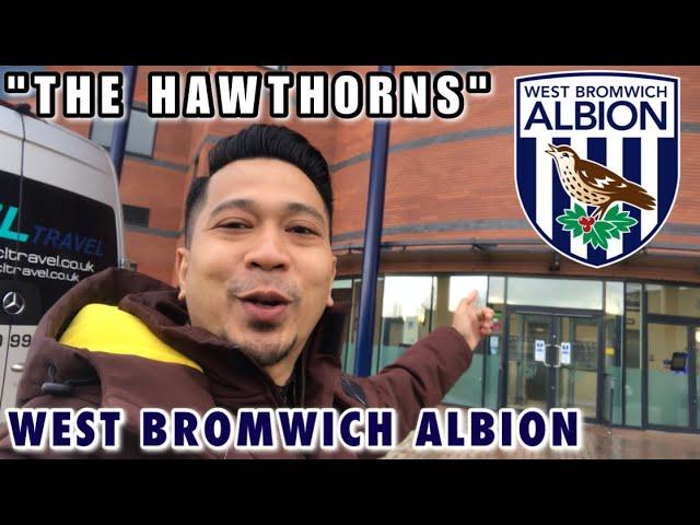 West Bromwich Albion FC ( WBA ) . The HAWTHORNS STADIUM. Stadion Klasik, yang punya daya Magis