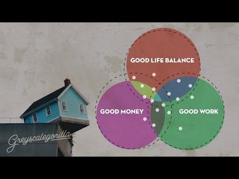 "Greyscalegorilla Podcast Ep. 86 ""Good Money. Good Work. Good life balance. Pick two."""