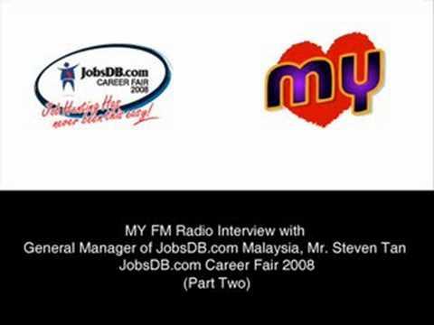 JobsDB.com Career Fair 2008 - MY FM Radio Interview (Part 2 of 2)