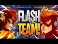 *NEW* FULL FLASH FAMILY GAMEPLAY! - DC Legends