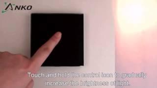 Сенсорный диммер Anko black(Управление освещением простым прикосновением. Купить сенсорный диммер http://220v.ltd.ua/products/sensornyj-dimmer-c-radioupravleniem/, 2014-04-02T06:19:04.000Z)