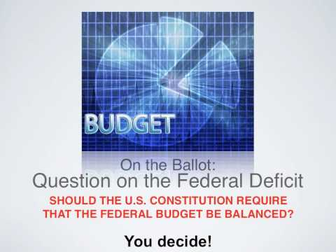 Should the Federal Budget be Balanced?