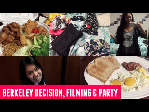 Berkeley Transfer Decision, Filming a Try On Haul & MUIRstock!