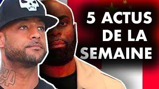 CANNABIS EN FRANCE, RETOUR DE BENALLA, BOOBA/KAARIS, BALEINES... 5 actus de la semaine