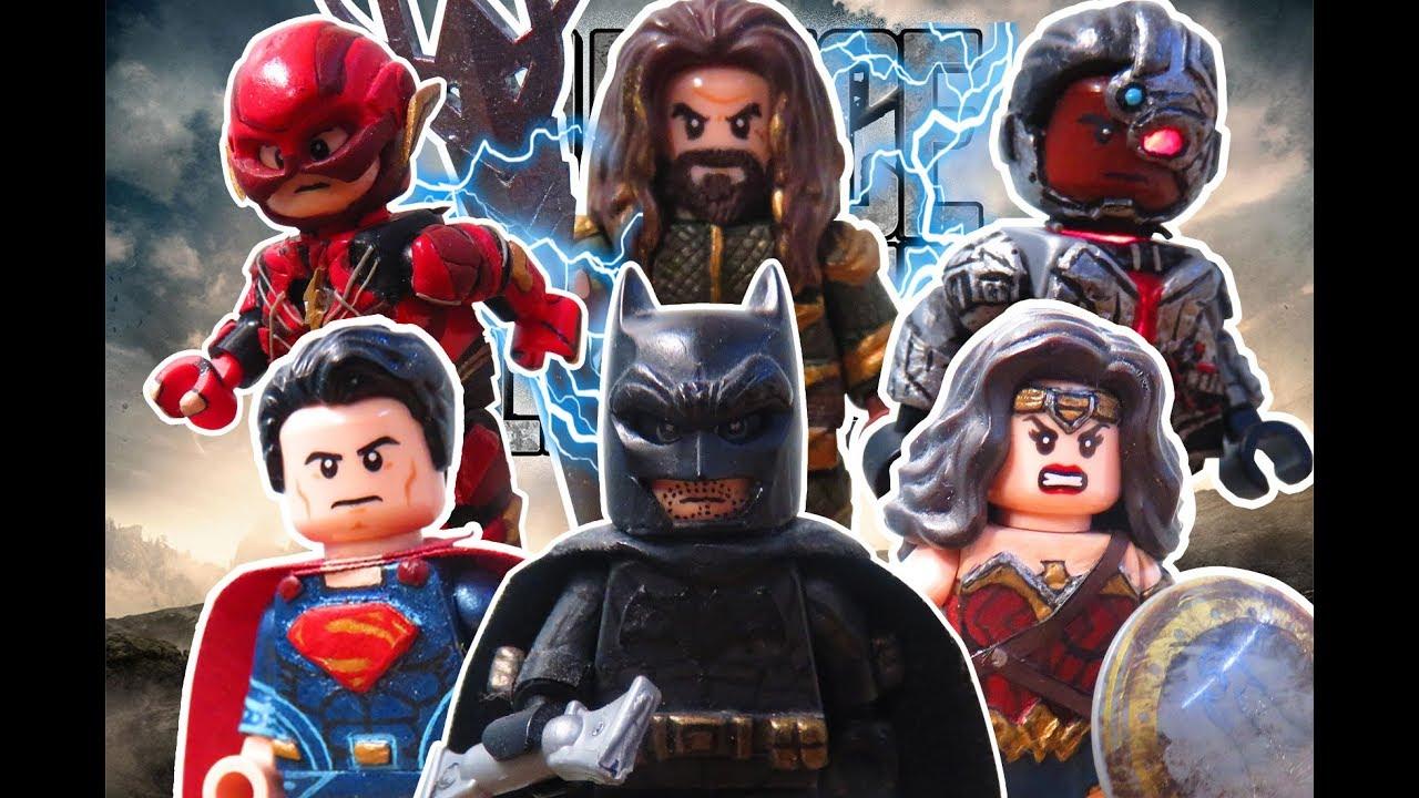 Lego Justice League Custom Minifigures - YouTube