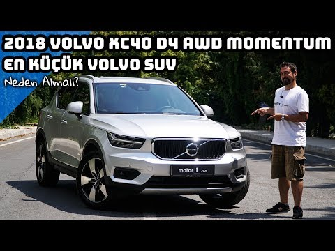 2018 Volvo XC40 D4 AWD Momentum | En Küçük Volvo SUV | Neden Almalı ? (English Subtitled)