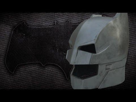making the batman vs superman : armored batman helmet (metal)