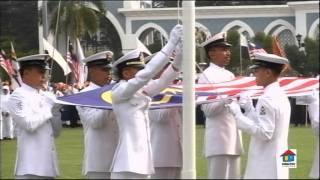 Merdeka 54 Pahang Bhg 02a: Jalur Gemilang & Negaraku
