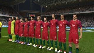 Polônia vs Portugal - UEFA EURO 2016 - 30/06 - PES16 (MODO ESTRELA) PS4